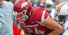 """The best tight end in the nation.""  Since the preseason, that's what college football's top coaches, NFL Draft analysts, national media members and fans across the country have called him. No one ever questioned it. But today, it's official. Arkansas junior tight end Hunter Henry has been named the 2015 John Mackey Award winner as the nation's most outstanding collegiate tight end, the Friends of John Mackey announced on Wednesday. 12/9/2015"