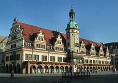 germany pictures | Leipzig Sights and culture - Old Townhall, Church of St. Thomas and St ...