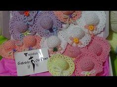 Tutorial Amigurumi Sombrero Broche : Sombreros tejidos a crochet youtube
