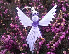 Quilled Angel by QuillingOwl on Etsy, €7.00