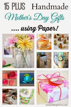 Cute Mother's Day Craft Ideas | Tons of Cute & Easy Mother's Day Gift Ideas