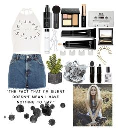 """~Hold back the river, hold back~"" by little-miss-rae-rae ❤ liked on Polyvore featuring River Island, Bobbi Brown Cosmetics, INIKA, Yael Salomon, DOMESTIC, Maison Margiela and The New Black"