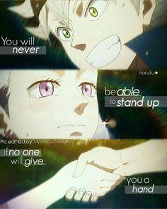 Asta x Noe    Black Clover    Anime Quote