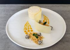 Coconut Mousse With White Chocolate & Mango Coulis - My French Chef