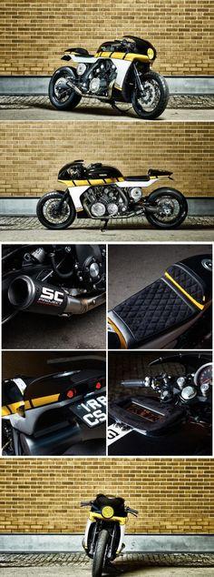 Yamaha VMAX Cafe Racer – it roCkS!bikes