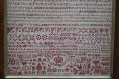 Hiscock And Shepherd Antiques - BESSIE 1872, BRISTOL ORPHANAGE SAMPLER
