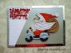 Papírvilág - Quilled Santa