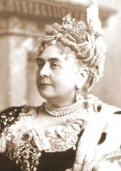 Princess Mary Adelaide Wilhelmina Elizabeth of Cambridge (27 November 1833 – 27 October 1897), was a member of the British Royal Family, a granddaughter of George III, and great-grandmother of Elizabeth II. She held the title of Duchess of Teck through marriage.  Mary Adelaide is remembered as the mother of Queen Mary, the consort of George V. She was one of the first Royals to patronise a wide range of charities.