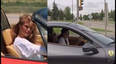 Ferrari Girl vs Rav4 Turbo GT-T aka 'GRISWOLD'.