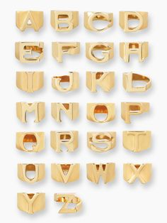 Enjoy endless possibilities with Chloé& alphabet rings. These gold rings are available in all 26 letters in order to support your limitless creativity. Chloe Jewelry, Womens Jewelry Rings, Hand Jewelry, Women's Jewelry, Fashion Jewelry, Statement Jewelry, Gemstone Jewelry, S Alphabet, Letter Pendants