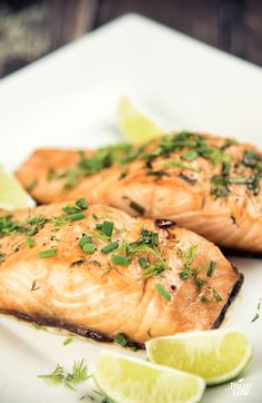 Maple Salmon With Chives and Dill #Paleo #Easter2015