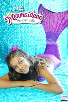 Tons of ideas for Mermaid Parties, like a sparkling mint & white dessert table, working mermaid tails, a dress up station & so much more! Mermaid Fin, Mermaid Tails For Kids, Ariel The Little Mermaid, Mermaid Parties, Cool Diy Projects, My Baby Girl, Birthday Parties, 7th Birthday, Birthday Ideas