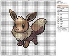 Afbeeldingsresultaat voor pokemon cross stitch patterns