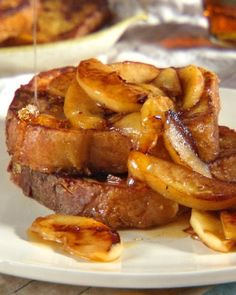 Apple-Maple French Toast