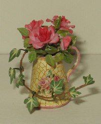 ••  Francesca Vernuccio Miniatures: roses composition in vase 7
