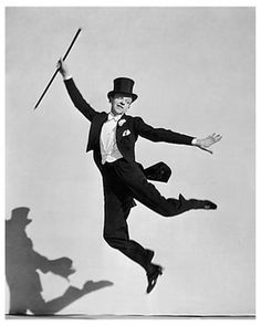 Famed Actor And Dancer Fred Astaire Classic Hollywood Photo