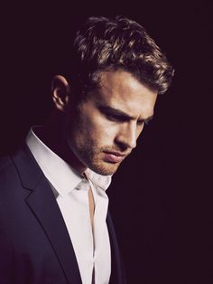 Theo James ~ I'm casting him in the role of my main character, Luke Mitchell. :)