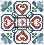 Вышивка - схемы бискорню Бискорню-82