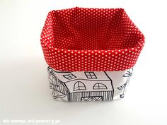 Easy Sewing Projects, Hamper, Diy Crafts, Stitch, Purses, Home Decor, Scrunchies, Trays, Random Stuff