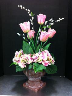 Spring tulip arrangement 2014