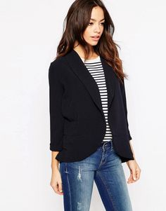 Only | Only 3/4 Sleeve Blazer at ASOS
