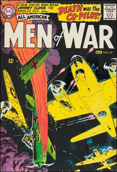 Russ Heath's covers for All-American Men of War, 1960 - 1965.