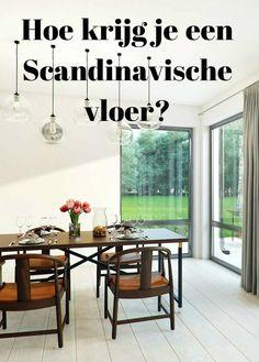 Hoe krijg je een #Scandinavische #vloer? Welk #design zie je veel in de Scandinavische landen. Lees meer in onze blog.