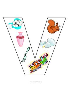 V Alphabet Activities, Activities For Kids, Spelling Games, English Games, Letter Of The Week, Beginning Sounds, Letter V, Pre Writing, Math Worksheets