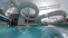 Therme Loipersdorf Panoramarutsche (Steel Slide) 360° VR Onride Vr, Steel, Outdoor Decor, Steel Grades, Iron