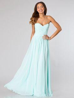 A-Line/Princess Sweetheart Sleeveless Ruched Chiffon Floor-Length Dresses
