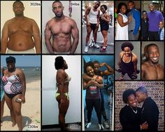 Success Stories of the Day: Power Couple Toni Gordon and Devin Kellybrew lost the weight and got fit together. She lost 104 pounds and he lost 118 pounds. You\u2019ve got to read their amazing stories and check out their before and after photos\u2026 #weightlossrecipes