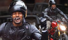 Tyson Beckford puts cigar before safety as he rides motorcycle