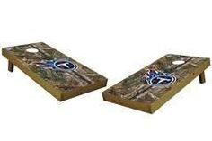 Tennessee Titans Single Cornhole Board - Realtree Xtra® Camo