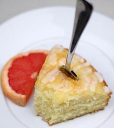 Pink Grapefruit Yogurt Cake @Maria Canavello Mrasek (Two Peas and Their Pod) -- perfect for a ladies tea!