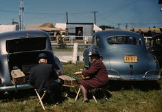 Jack Delano: Picnickers at the state fair, Rutland, Vermont, 1941