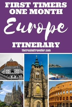 First Timers One Month Europe Itinerary - The Trusted Traveller