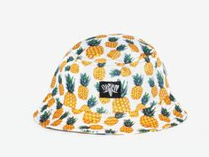 Pineapple Bucket Hat Made With Brazil Fabric by SerengeteeShop Summer Baby, Hat Making, One Size Fits All, Brazil, Bucket Hat, Pineapple, Have Fun, Summer Outfits, Hats