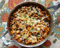 Spicy Chicken Enchilada Skillet   This was awesome!  We topped each serving with a few crushed tortilla chips - yummy!