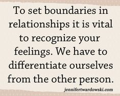 6 Steps to Setting Boundaries in Relationships | Jennifer Twardowski