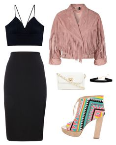 """""""Sin título #209"""" by sabrina-martinez-soto on Polyvore featuring moda, Jerome C. Rousseau, Topshop y Red Herring"""