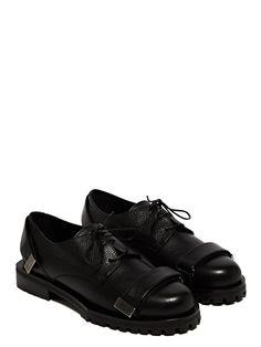 Achilles Ion Gabriel Mens Double Velcro Strap Derby Shoes