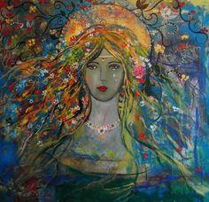 """Saatchi Online Artist Alice Lenkiewicz; Painting, """"Honour of Beauty"""" #art"""