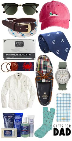 Gifts For Dad via @College Prepster