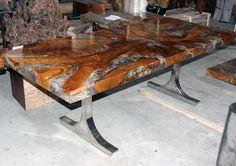 Between modern and organic Teak resin table  #resin #crackedresin  #teakwood  #designinterior  #designs  #furniture #dinningtable #art #bali by nvi.diastika