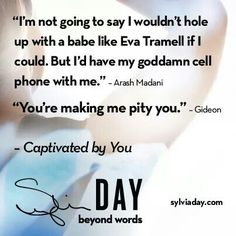 Captivated by You (Crossfire, by Sylvia Day Sylvia Day Crossfire Series, Jamie Mcguire, Day Book, Beyond Words, Book Boyfriends, Personalized Books, Book Of Life, Book Nerd, Book Quotes