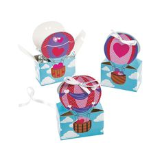 Hot Air Balloon Favor Boxes - OrientalTrading.com