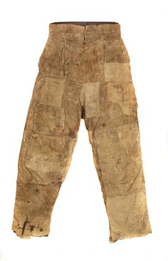 Image: Farm labourer's clothing - Date made: 1800 - 1830  Materials: corduroy; cotton; wool  Accession number: GRSRM : 2006.172  Norfolk Museum