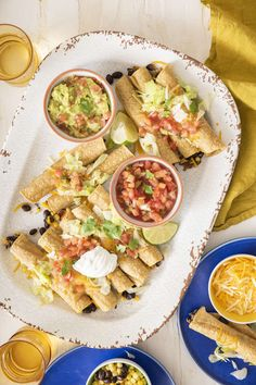 Vegetarian Baked Taquitos Vegan Recipes Easy, Veggie Recipes, Fun Recipes, Mexican Food Recipes, Veggie Dinners, Vegetarian Bake, Vegetarian Recipes, Baked Taquitos, Mexican Dishes