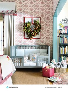 Wonderful children's room to grow in to.