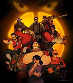 Ten Years by sozo-teki on DeviantArt Tf2 Pyro, Tf2 Funny, Tf2 Scout, Team Fortress 2 Medic, Red Team, Nerd Geek, Overwatch, Memes, Game Art